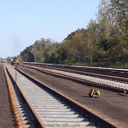 Frontier's services range from testing and rehabilitation to full, turn-key track construction.