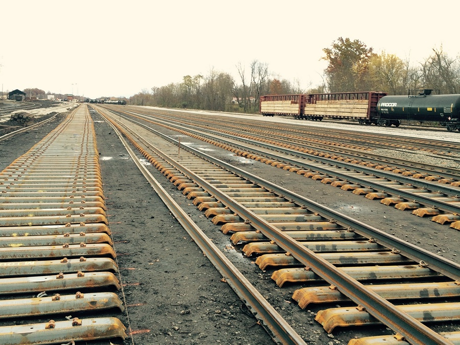 Wheeling & Lake Erie Railroad West Brewster Yard - October 2014